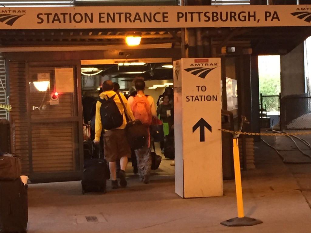 Pittsburgh Amtrak station entrance
