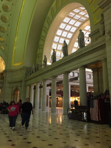 Interior of Washington DC Union Station
