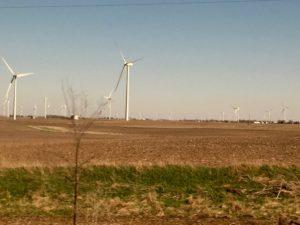 Central Illinois wind farm