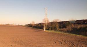 Illinois railroad prairie