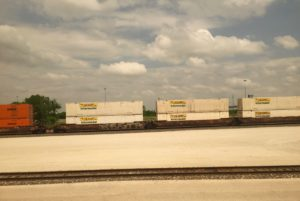 Texas freight train