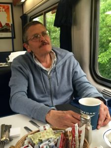 Rail passenger Steve