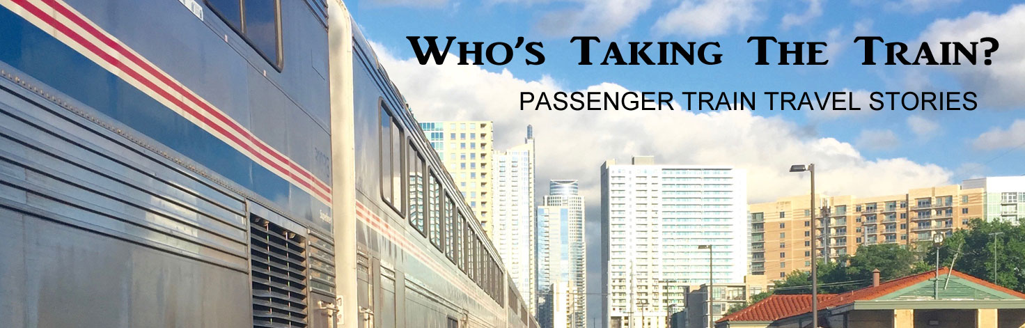 Who's Taking The Train Logo