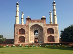 Tomb of Akbar in Sikandra, india