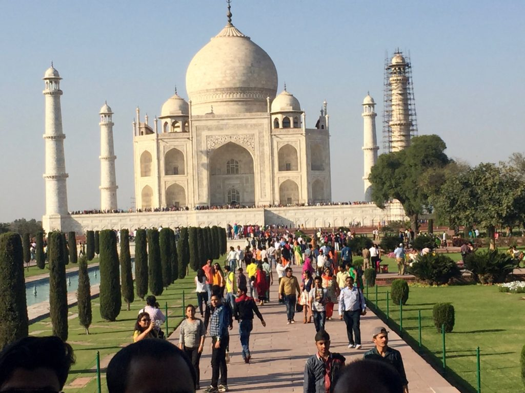 Visiting the Taj Mahal in Agra, India