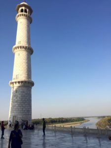 River view at Taj Mahal